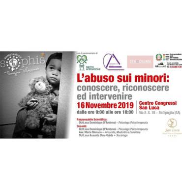 L'abuso sui minori: conoscere, riconoscere ed intervenire